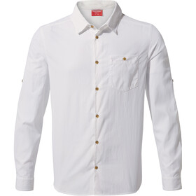 Craghoppers NosiLife Nuoro Longsleeve Shirt Heren, optic white